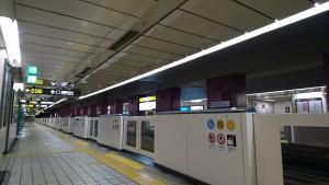 本山駅ホーム