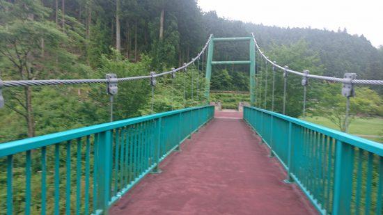 香恋の館の吊り橋