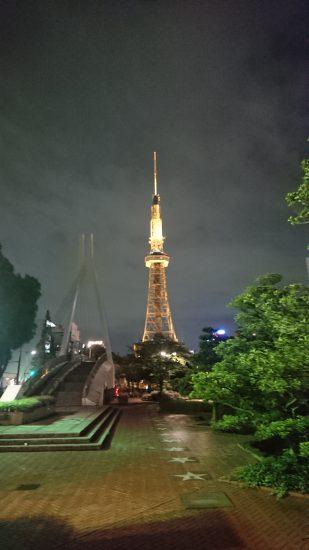公園からテレビ塔