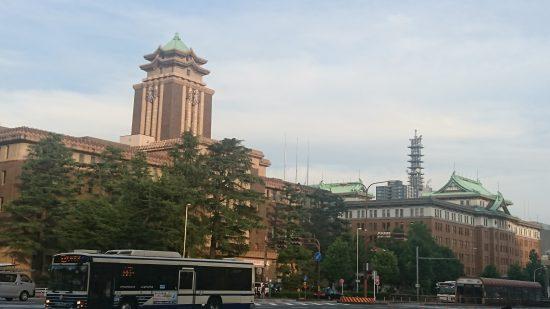名古屋市役所と愛知県庁庁舎