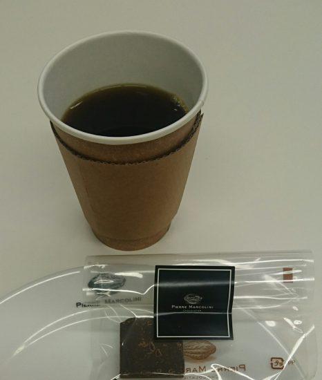 ピエールマルコリーニのコーヒーとチョコレート