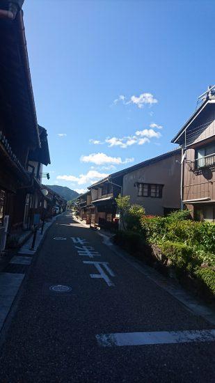 関宿町並み