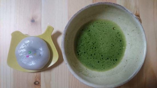 而今禾のお茶碗と志ら玉