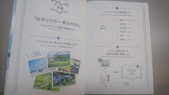 ワナドゥ!!手帳SUBARUコンセプト