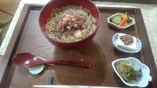 soba cafe 日本の暮らし おろし蕎麦(温)
