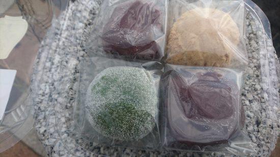 大蔵餅、山吹、草餅