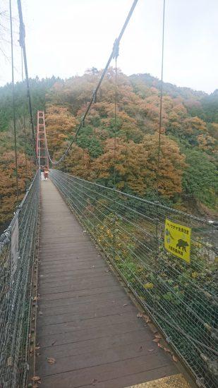 多良峡吊り橋3序盤