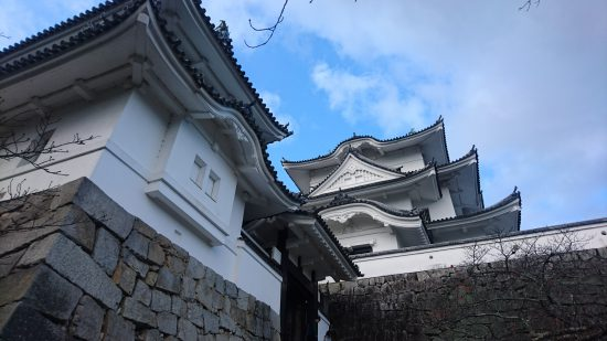 伊賀上野城アップ