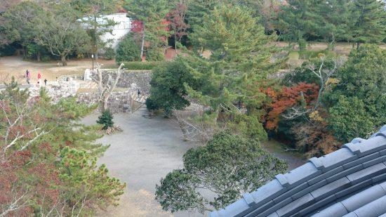 伊賀上野城からの眺め