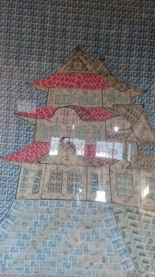 伊賀上野城切手バージョン
