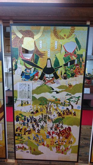 伊賀上野城顔出しパネル