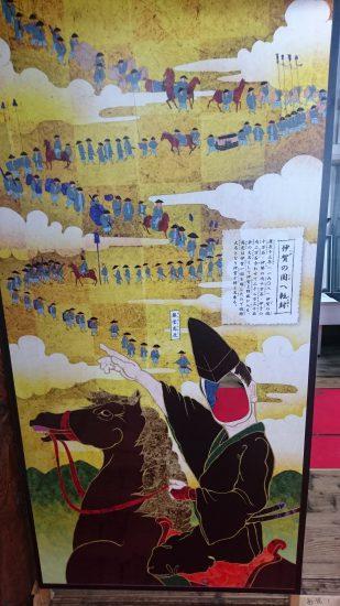 伊賀上野城顔出しパネル2