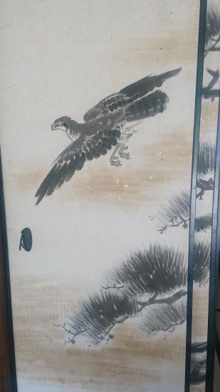 近江孤篷庵襖絵1