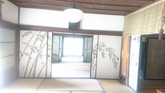 近江孤篷庵襖絵3