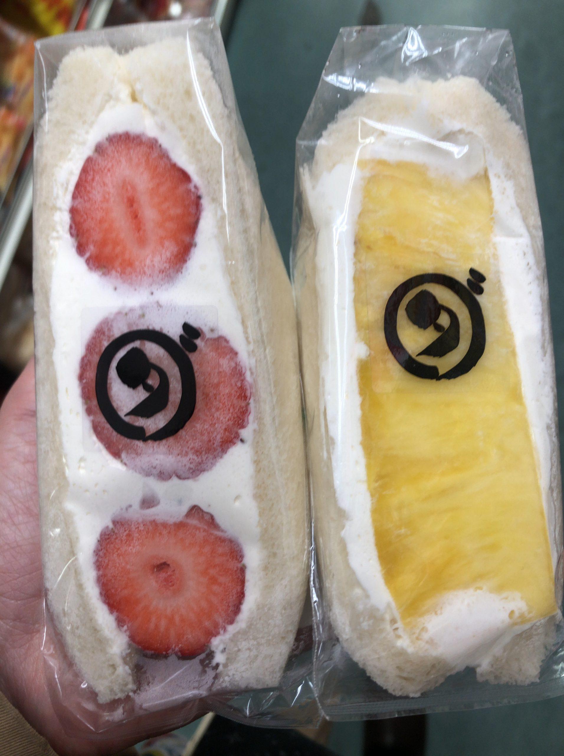 ダカフェ フルーツ サンド